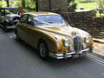 1967 Jaguar Mark 2 and 1929 Essex Super Six Challenger at a wedding in May 2010