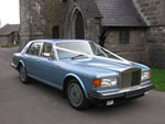 1987 Rolls Royce Spirit in Metallic Pale Blue