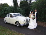 1965 Jaguar Mark 2 at a wedding in October 2011