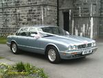 Modern Jaguar Sovereign at a wedding in April 2012