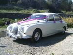 1965 Jaguar Mark 2 at a wedding on 6 May 2012