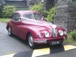 1954 Bristol 403 at a wedding on 23 June 2012