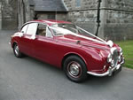1969 Daimler V8 in Regency Red