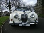 Jaguar Mark 2 in Old English White