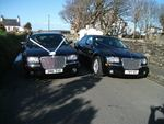 Two Chrysler 300 Saloons in Black